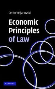 Economic Principles of Law Book